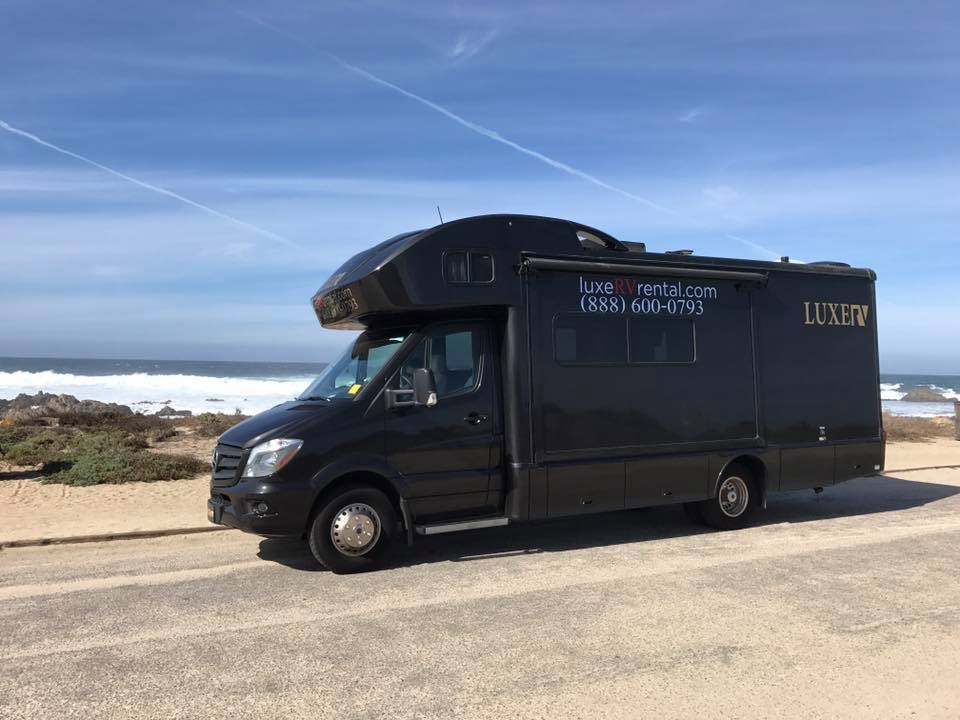 Luxe rv delivers mercedes benz rv rentals with concierge for Mercedes benz rv rentals