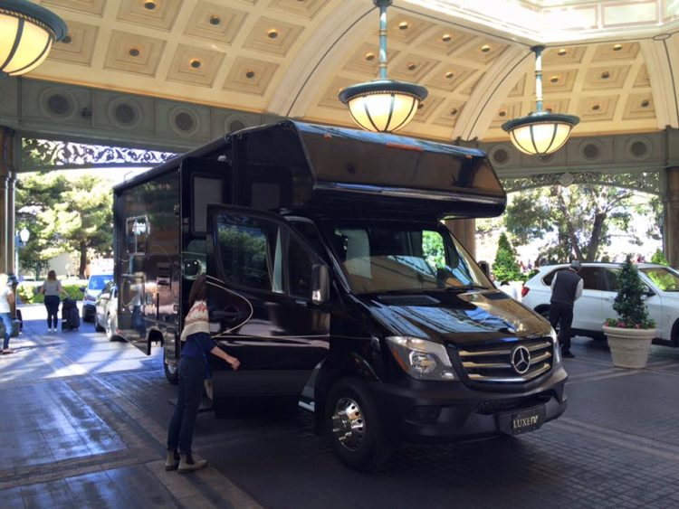 luxurious rv rental